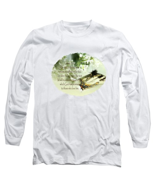 Swallowtail And Lilac Long Sleeve T-Shirt