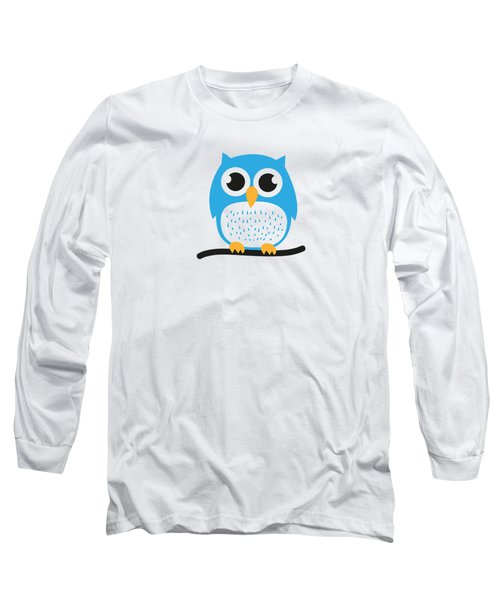 Sweet And Cute Owl Long Sleeve T-Shirt