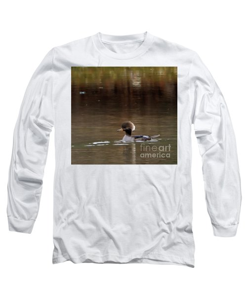 Swimming Alone Long Sleeve T-Shirt by Tamera James