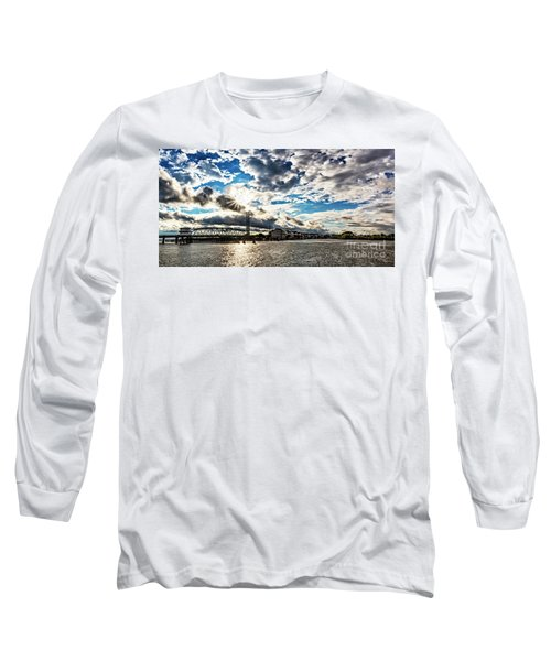 Swing Bridge Drama Long Sleeve T-Shirt