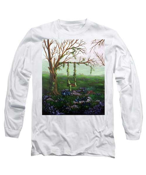 Swingin' With The Flowers Long Sleeve T-Shirt