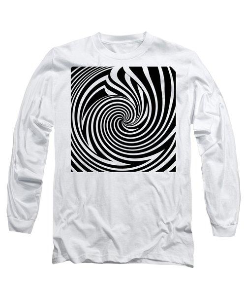 Swirl Op Art Long Sleeve T-Shirt