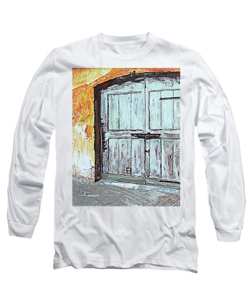 Switzerland Mint Door Long Sleeve T-Shirt