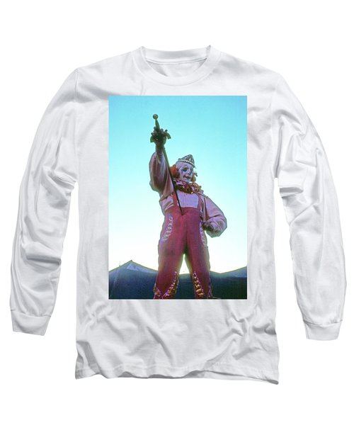 Sword Swallower Long Sleeve T-Shirt by Laurie Stewart