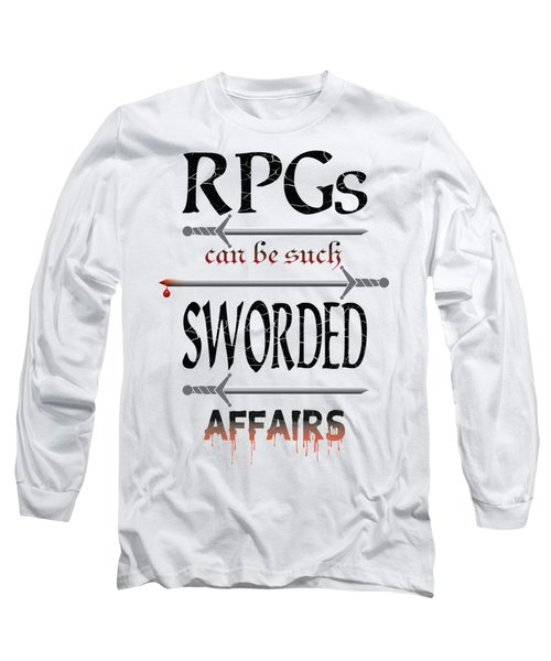 Sworded Affairs Light Long Sleeve T-Shirt by Jon Munson II