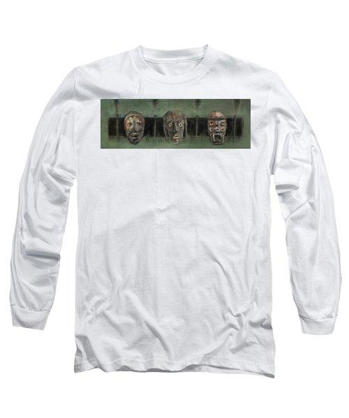 Symbol Mask Painting - 05 Long Sleeve T-Shirt