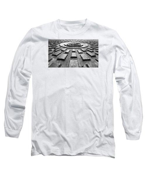 Symmetrical Long Sleeve T-Shirt