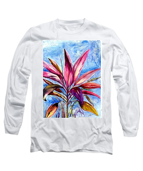 Symphony Of Red Long Sleeve T-Shirt