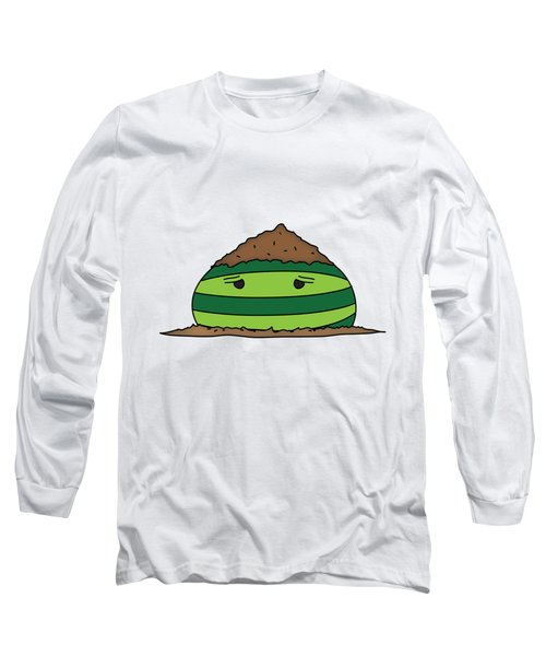 T H E . E L E M E L O N S ______________ E A R T H M E L O N Long Sleeve T-Shirt by H U M E A I M A R T
