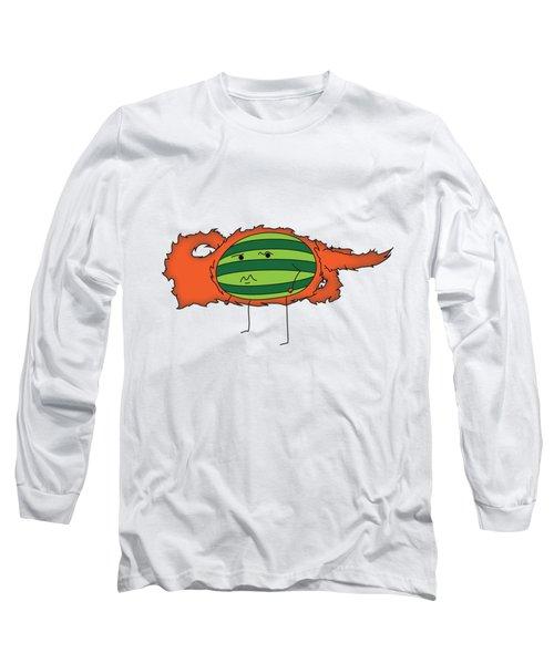 T H E . E L E M E L O N S ______________ F I R E M E L O N Long Sleeve T-Shirt