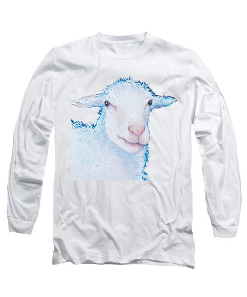 T-shirt With Sheep Design Long Sleeve T-Shirt