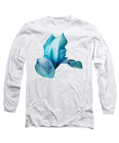 Ta-da A Blue Iris Long Sleeve T-Shirt