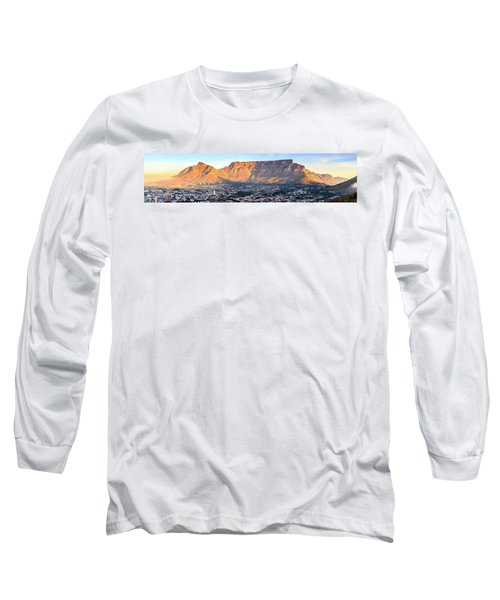 Long Sleeve T-Shirt featuring the photograph Table Mountain by Alexey Stiop