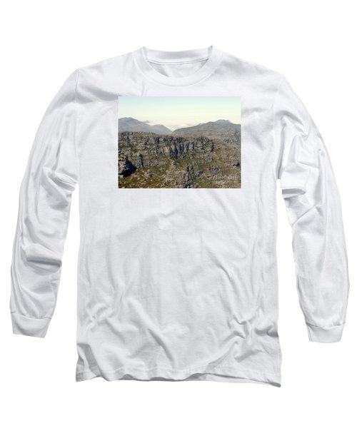 Table Rock View Long Sleeve T-Shirt by John Potts