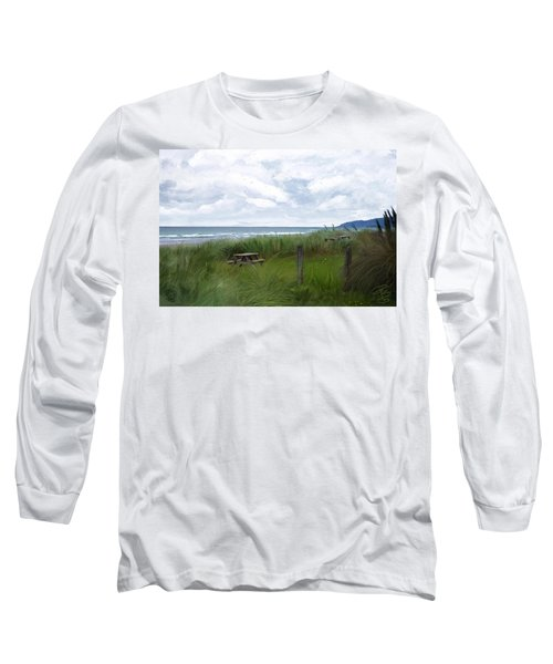 Tables By The Ocean Long Sleeve T-Shirt
