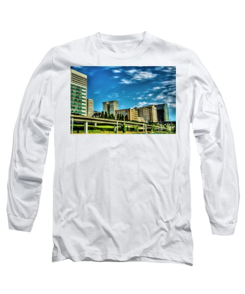 Tacoma,washington.hdr Long Sleeve T-Shirt