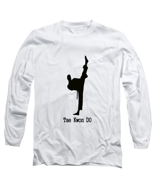 Tae Kwon Do T-shirt Long Sleeve T-Shirt