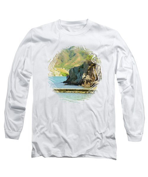 Taganga Beach  Long Sleeve T-Shirt