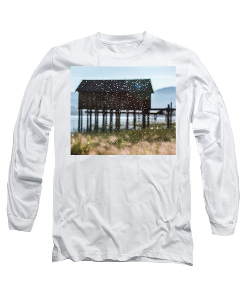 Tahoe Boat House Flies Long Sleeve T-Shirt
