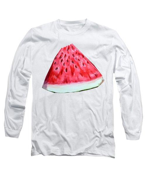 Take A Bite Long Sleeve T-Shirt by Shana Rowe Jackson