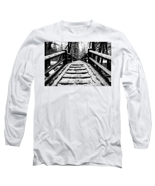Long Sleeve T-Shirt featuring the photograph Take A Walk With Me by Lora Lee Chapman