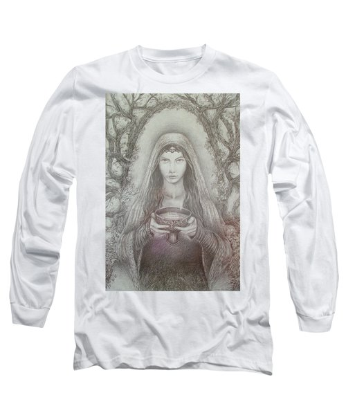 Take A Bowl Of Your Happiness Long Sleeve T-Shirt by Rita Fetisov