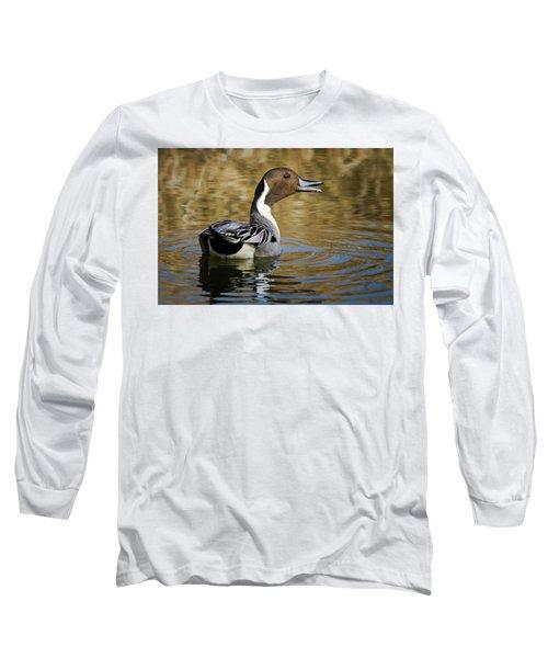 Talking Pintail Long Sleeve T-Shirt