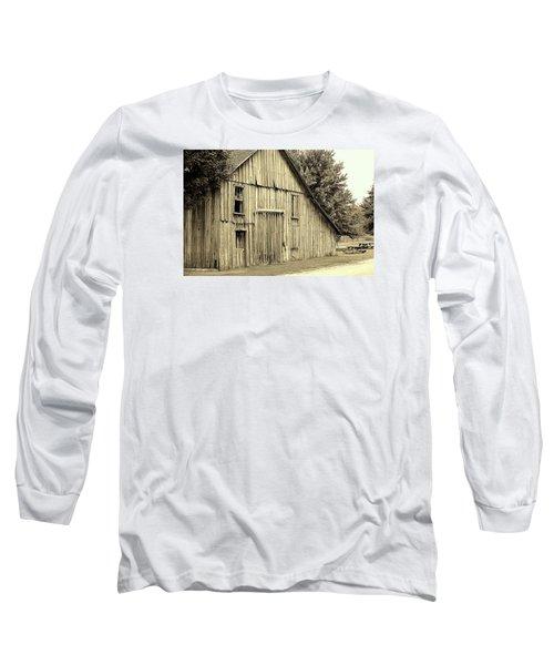 Tall Barn Long Sleeve T-Shirt