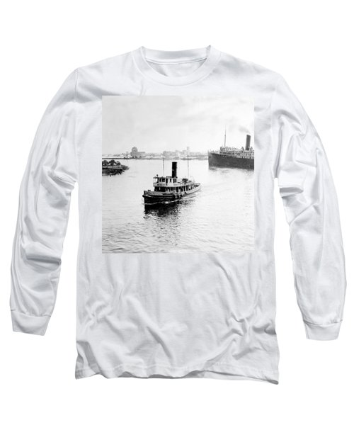 Tampa Florida - Harbor - C 1926 Long Sleeve T-Shirt by International  Images