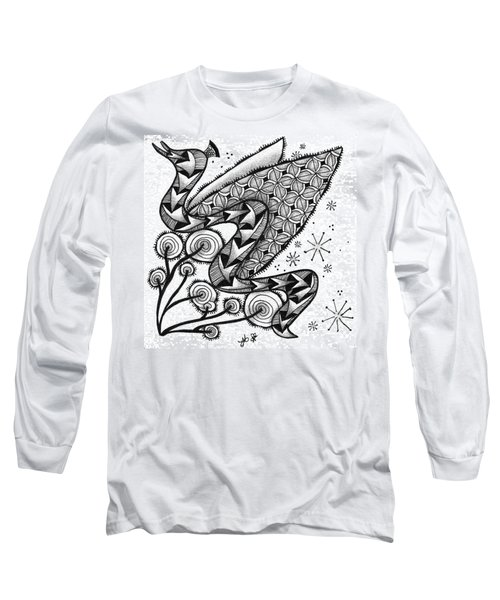 Tangled Serpent Long Sleeve T-Shirt by Jan Steinle