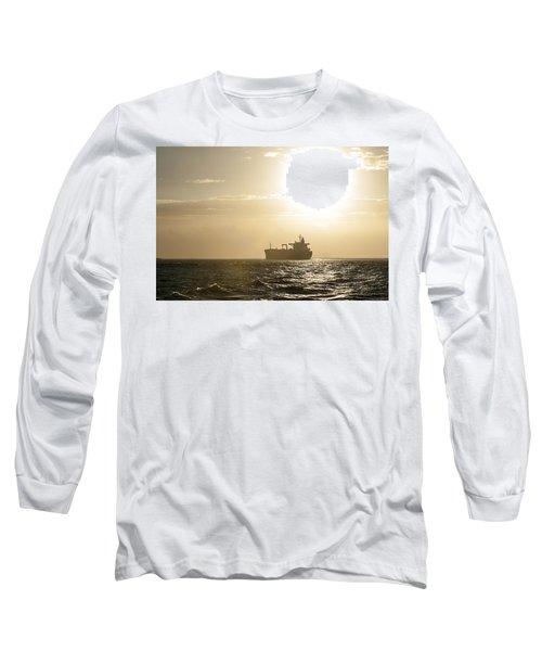 Tanker In Sun Long Sleeve T-Shirt