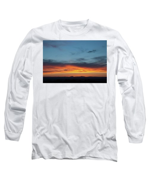 Taos Mesa Sunset Long Sleeve T-Shirt