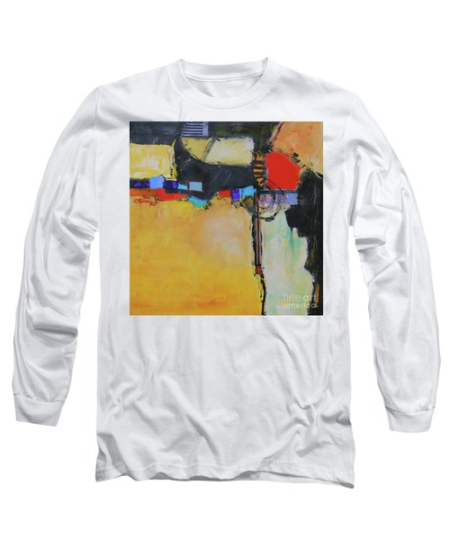 Long Sleeve T-Shirt featuring the painting Targeted by Ron Stephens