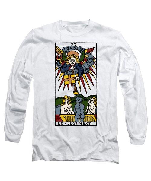 Tarot Card Judgement Long Sleeve T-Shirt by Granger