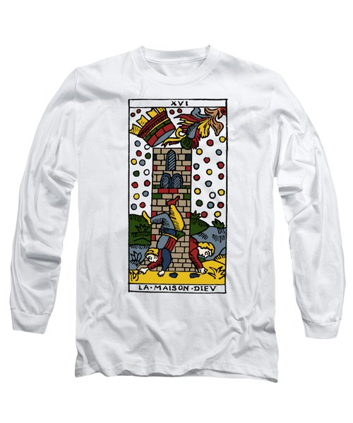 Tarot Card Poorhouse Long Sleeve T-Shirt