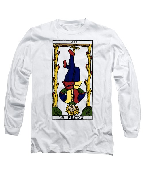Tarot Card The Hanged Man Long Sleeve T-Shirt