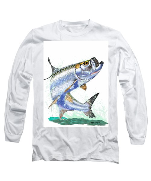 Tarpon Digital Long Sleeve T-Shirt