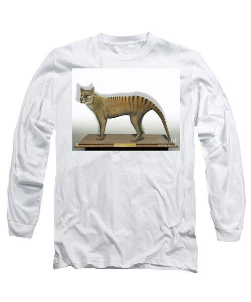 Tasmanian Tiger-thylacinus Cynocephalus-tasmanian Wolf-lobo De Tasmania-tasmanian Loup-beutelwolf    Long Sleeve T-Shirt