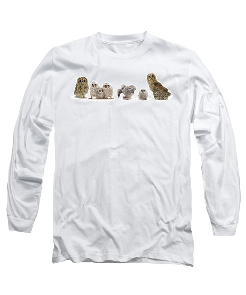 Tawny Owl Family Long Sleeve T-Shirt