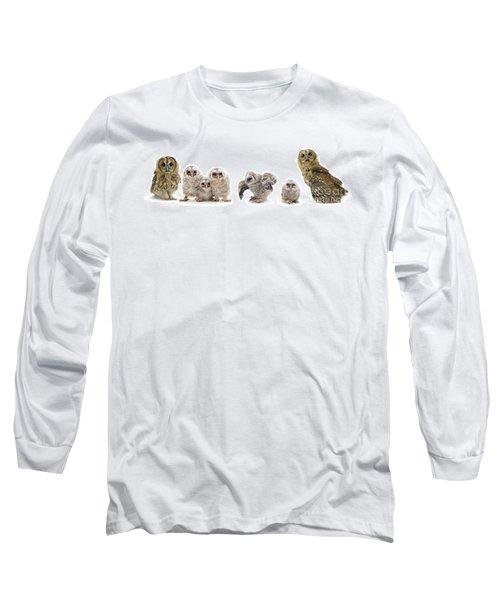Tawny Owl Family Long Sleeve T-Shirt