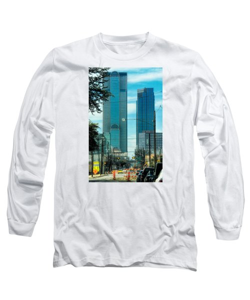 Long Sleeve T-Shirt featuring the photograph Tax Dollars At Work by Joan Bertucci