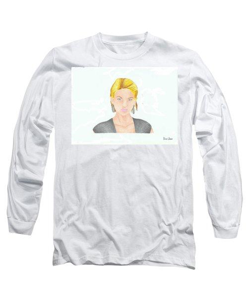 Taylor Swift Long Sleeve T-Shirt by Toni Jaso