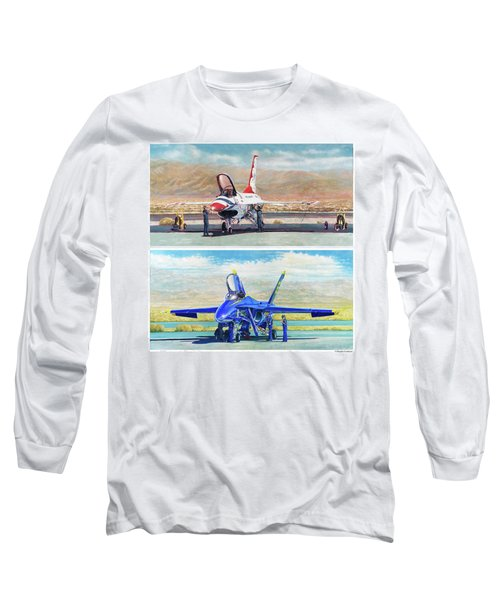 Tbirds And Angels Maintenance Long Sleeve T-Shirt