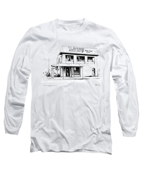Tc Alexander Store Long Sleeve T-Shirt