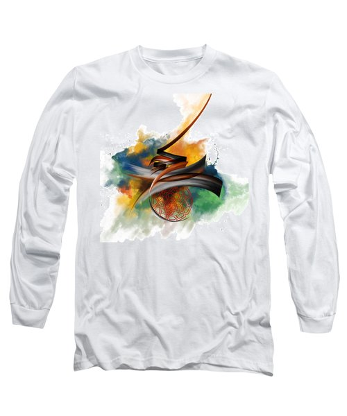 Tc Calligraphy 34 Long Sleeve T-Shirt