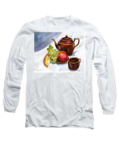 Tea And Fruit Long Sleeve T-Shirt