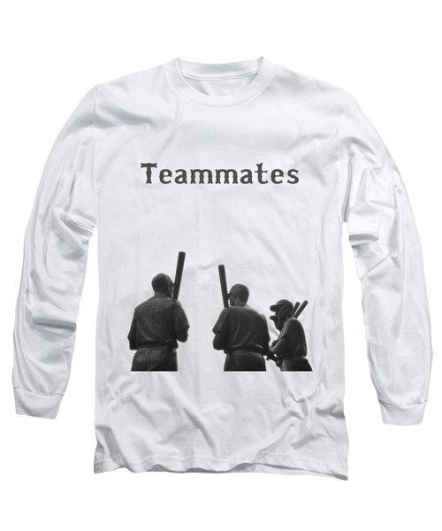 Teammates Poster - Boston Red Sox Long Sleeve T-Shirt