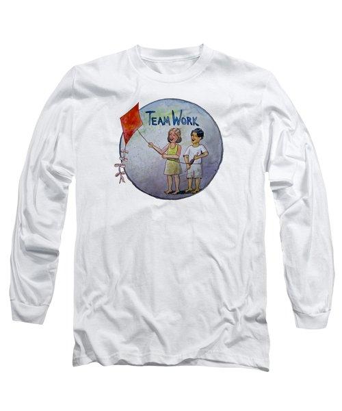 Teamwork Long Sleeve T-Shirt