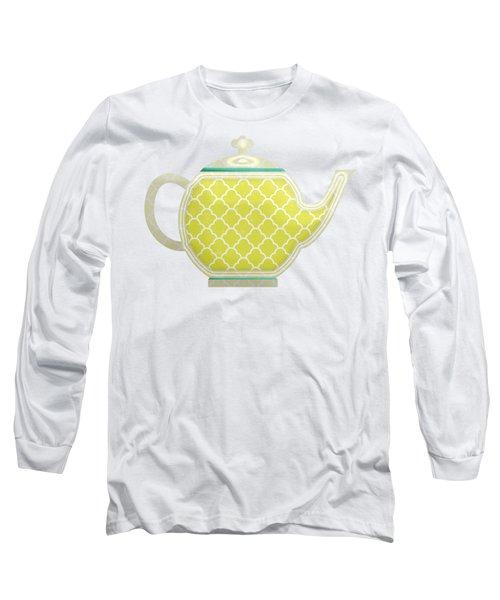 Teapot Garden Party 2 Long Sleeve T-Shirt