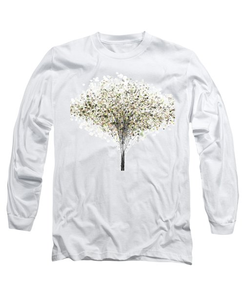 technology Abstract Long Sleeve T-Shirt
